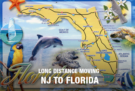 Nj to fl movers best long distance moving company all for Best place to move in florida