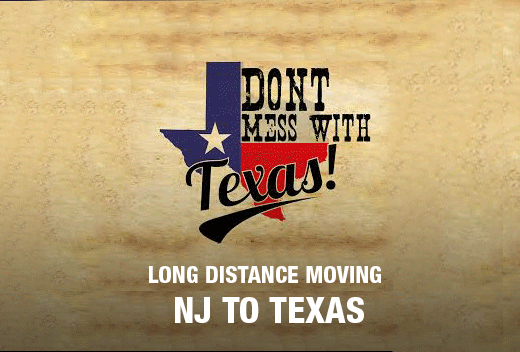 Affordable Move To and From Texas | All Jersey Movers