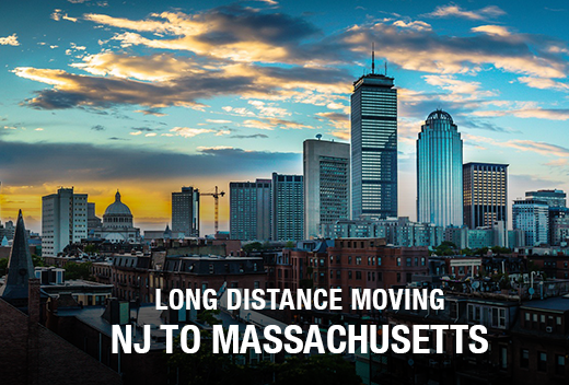 NJ to MA: Long Distance Moving Companies | All Jersey Movers