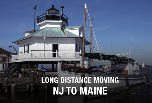 NJ to ME: Long Distance Moving Companies | All Jersey Movers