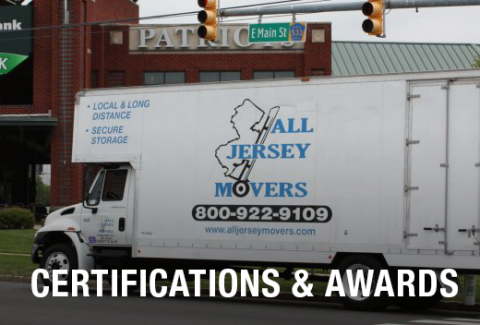 Certified Movers | Local & Long Distance Move | All Jersey Movers