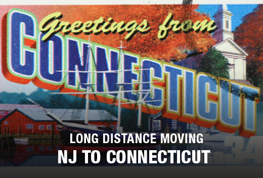 NJ to CT: Long Distance Moving Companies | All Jersey Movers