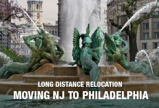 NJ to Philadelphia Moving Company - All Jersey Movers - Move to Pennsylvania