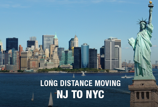 NJ to NYC: Long Distance Moving Companies | All Jersey Movers