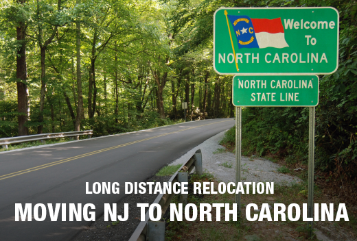 NJ To NC Movers - Best Long Distance Moving Company | All Jersey Movers