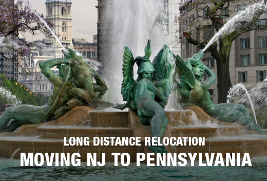 NJ to Pennsylvania Long Distance Moving | All Jersey Movers