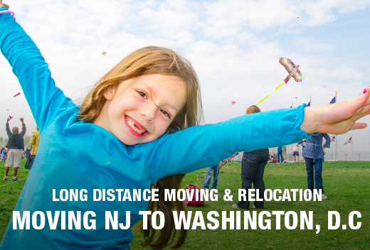 NJ to Washington D.C. Moving & Relocation | All Jersey Movers
