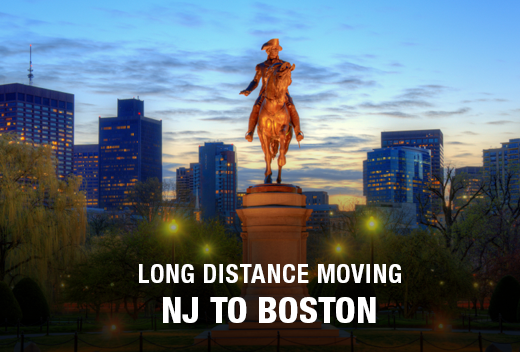 Long Distance Moving: New Jersey to Boston| All Jersey Movers
