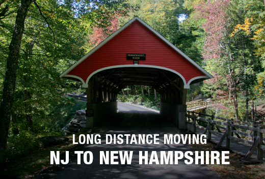 Long Distance Move From New Jersey To New Hampshire