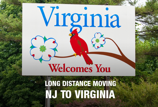 All Jersey Movers Provides the Best Long Distance Moving from NJ to VA