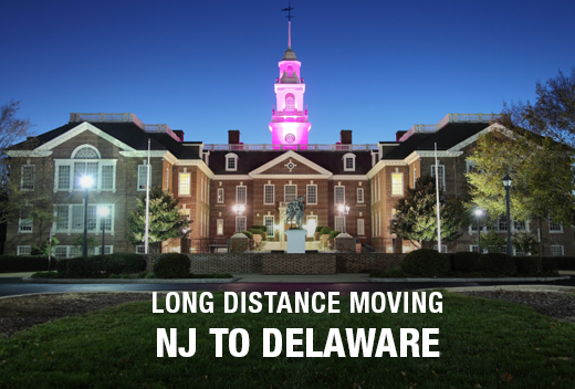 NJ To DE Movers - Best Long Distance Moving Company | All Jersey Movers