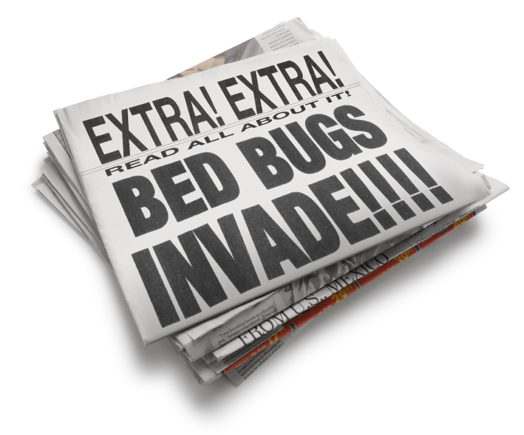 Newspaper - Bed Bugs Invade