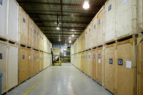 Containerized Storage Facility