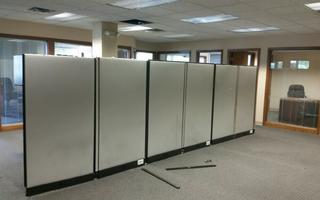 Disassembling Cubicles to move