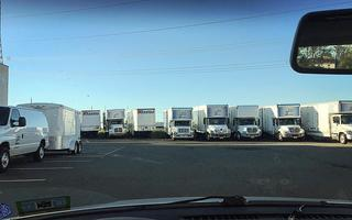 Fleet of Moving Trucks