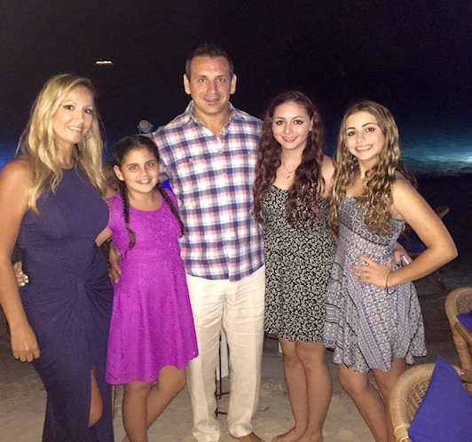 Mark Quinn and family